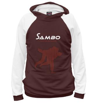 Женское Худи Спорт самбо