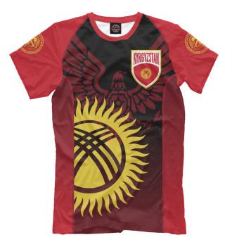 Мужская Футболка Kyrgyzstan
