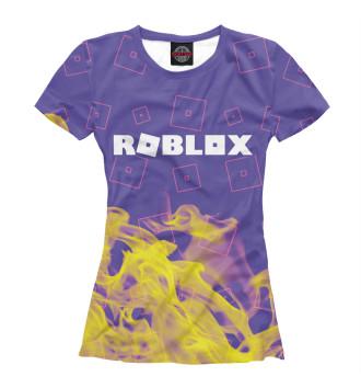 Женская Футболка Roblox / Роблокс