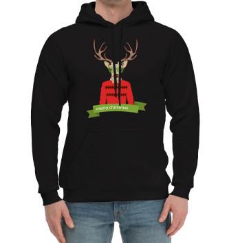 Мужской Хлопковый худи Oh my Deer