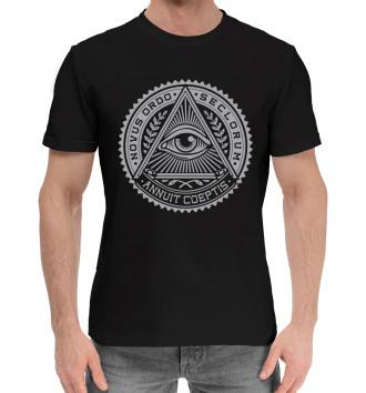 Мужская Хлопковая футболка Illuminati