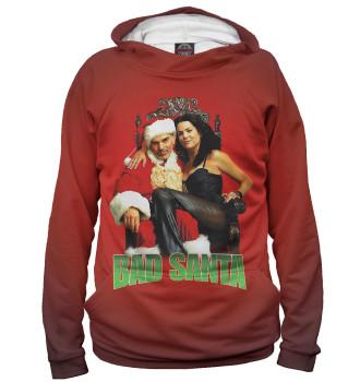 Женское Худи Bad Santa