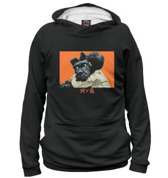 Мужское Худи Остров собак