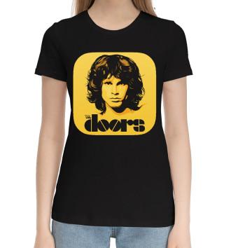 Женская Хлопковая футболка The Doors