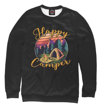 Женский Свитшот Happy camper
