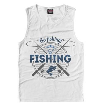 Мужская Майка Fishing