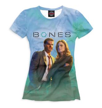 Женская Футболка Bones