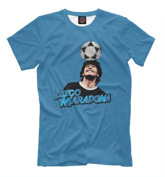 Мужская Футболка Diego Maradona