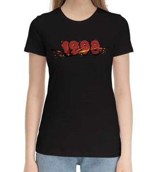 Женская Хлопковая футболка 1998
