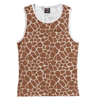 Женская Майка Шкура жирафа