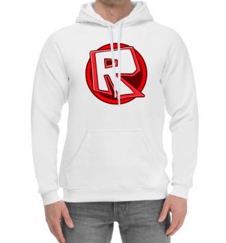 Мужской Хлопковый худи Roblox Logo