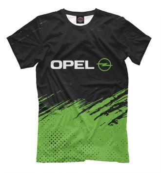 Мужская Футболка Opel / Опель