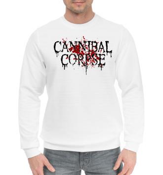 Мужской Хлопковый свитшот Cannibal Corpse