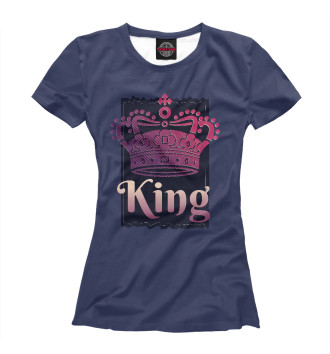 Женская Футболка Dark King