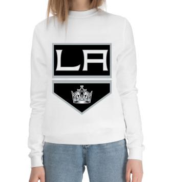 Женский Хлопковый свитшот Los Angeles Kings