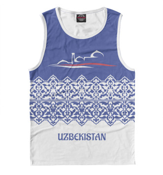 Мужская Майка Узбекистан