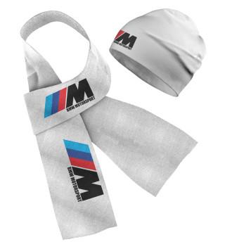 Шапка и шарф BMW Motorsport