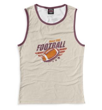 Женская Майка Since 1995 Football