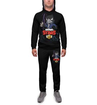 Мужской Спортивный костюм Brawl Stars Crow
