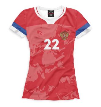 Женская Футболка Dzyuba 22