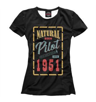 Женская Футболка 1951