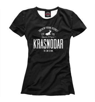Женская Футболка Краснодар