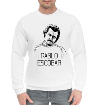 Мужской Хлопковый свитшот Pablo Escobal