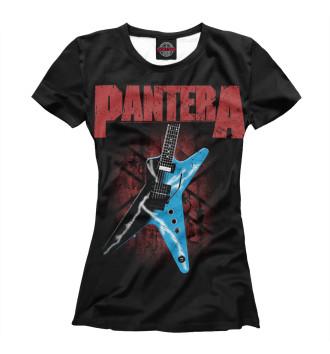 Женская Футболка Pantera
