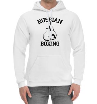 Мужской Хлопковый худи RUSSIAN BOXING