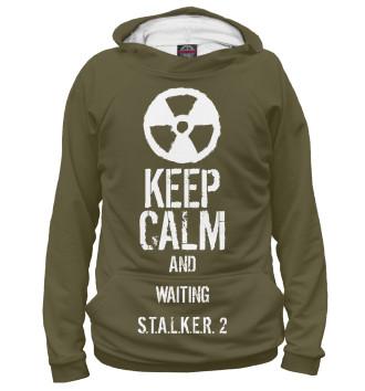 Женское Худи Keep calm..