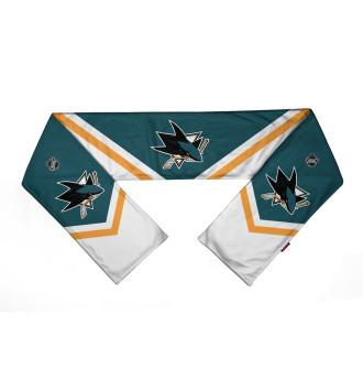 Шарф San Jose Sharks