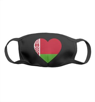 Женская Маска Belarus Heart
