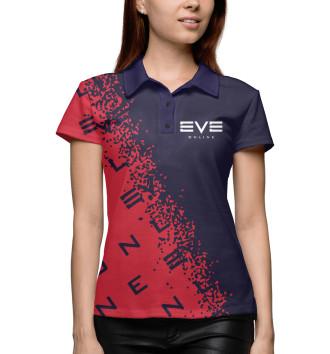 Женское Поло Eve Online / Ив Онлайн