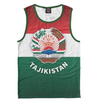 Мужская Майка Tajikistan