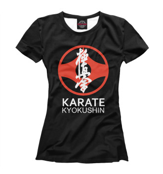 Женская Футболка Karate Kyokushin