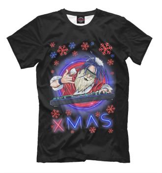 Мужская Футболка Santa Claus XMAS