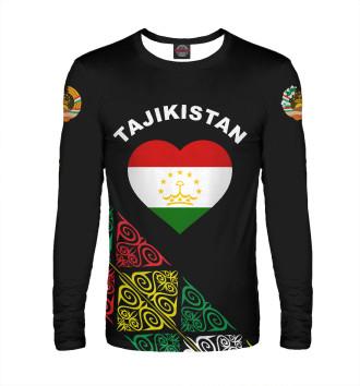 Мужской Лонгслив Таджикистан