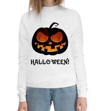 Женский Хлопковый свитшот Pumpkin