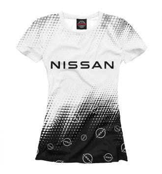 Женская Футболка Nissan / Ниссан