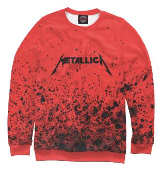 Мужской Свитшот Metallica / Металлика