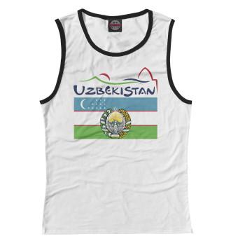 Женская Майка Узбекистан
