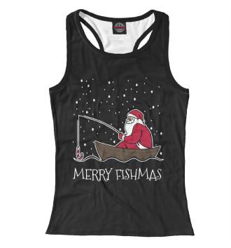 Женская Борцовка Merry fishmas