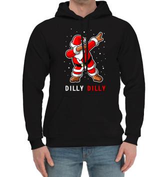 Мужской Хлопковый худи Dilly Dilly