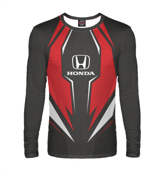Мужской Лонгслив Honda Driver team Red