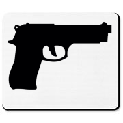 Beretta M-9 Handgun Mousepad