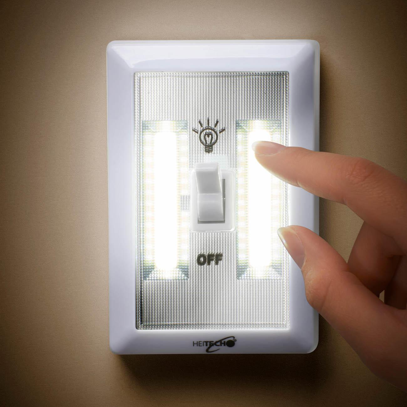 Battery Powered LED Wall Light Set of 3 online