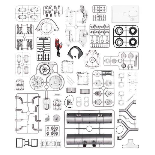Porsche 4-cylinder Boxer Engine 547 Construction Kit
