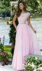 Light-Pink Sherri Hill Prom Dress