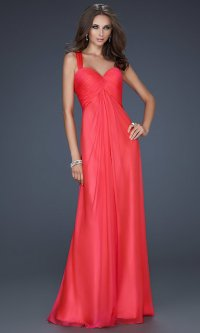 Watermelon Color Prom Dress   www.imgkid.com - The Image ...