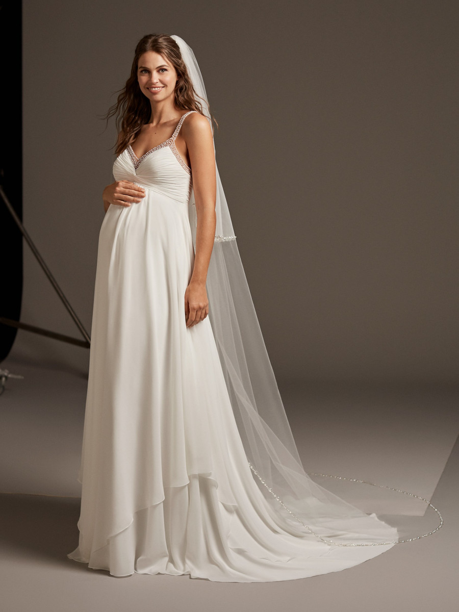 Maternity Wedding Dresses  Bridal Gowns  Pronovias